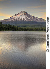 Mount Hood at Trillium Lake 2