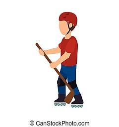 rock-climber man design