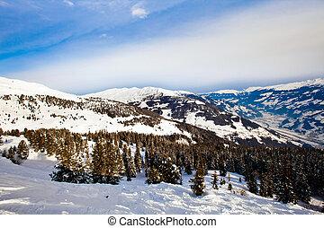 alpi, picchi, nevoso