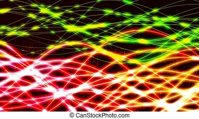 HD Loopable Background with nice luminescent lines