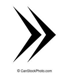 next arrow symbol