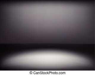 black gradient abstract background with white light