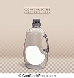 cooking oil plastic bottle