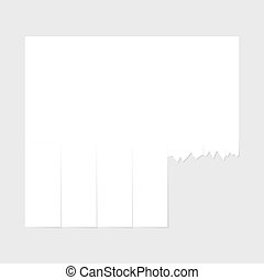 Blank advertisement template