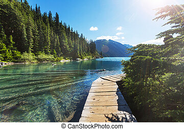 Garibaldi lake - Hike to turquoise waters of picturesque...