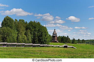 Museum of wooden architecture - Malye Karely, Arkhangelsk...