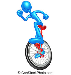 Unicycle Illustrations and Stock Art. 796 Unicycle ...