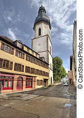 Speyer Tower, Germany - Historical tower in the old center...