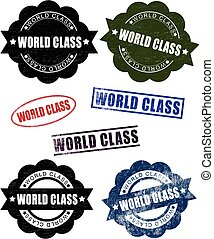 World Class Rubber Stamp Seals