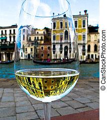 vetro, Venezia, vino