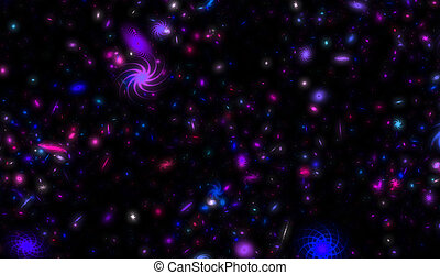 Milky Way Galaxy with Stars and Nebula Background