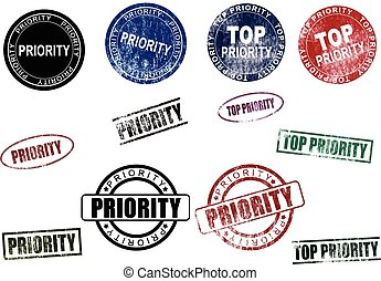 Priority & Top Priority Stamps Seal
