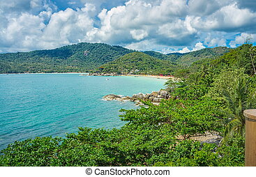 Koh Phangan island. Thailand - Koh Phangan island in the...