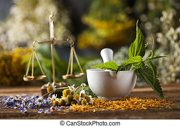 Mortar, Alternative medicine and Natural remedy - Natural...