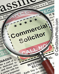 Commercial Solicitor Join Our Team 3D - Commercial Solicitor...