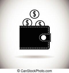 Wallet Icon Money Purse