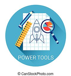 Power Tools Business Icon