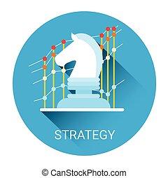 Strategy Concept Business Idea Icon