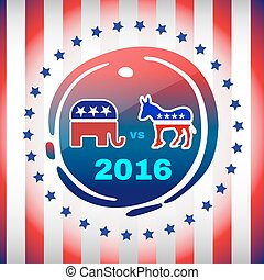 Election Day 2016 Campaign Banner - Election Day 2016...