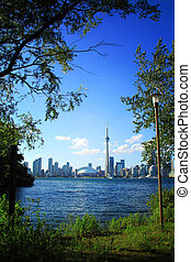Toronto Cityscape - View of Toronto cityscape from Central...