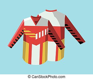 Hockey Sportswear Uniform - Hockey Pullovers Yellow, Red and...