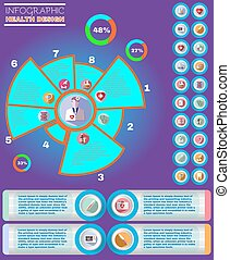 Healthcare Vector Infographic - Medical Vector Infographic...