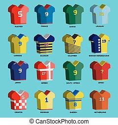 Soccer Teams Sportswear Uniforms