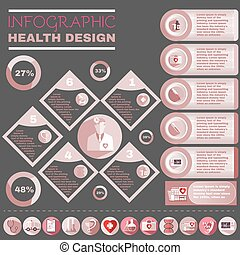 Healthcare Vector Infographic.