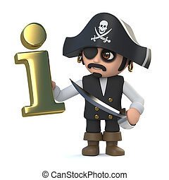 3d Pirate captain has information