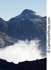 Pyrenees - Peaks in Tena Valley, Pyrenees, Huesca, Aragon,...