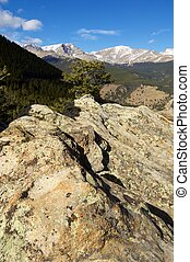 Rocky Mountain National Park - Landscape in Rocky Mountain...