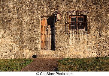 Old Doorway - Presido La Bahia, Texas Revolution Historic...