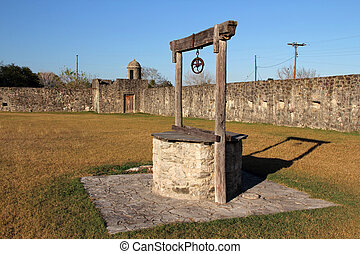 Old Well - Presido La Bahia, Texas Revolution Historic Site,...