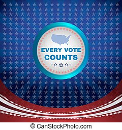 Every Vote Counts Banner