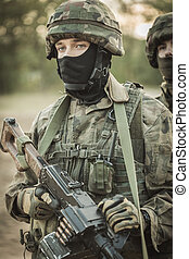 Young and ready for anything - Portrait of an uniformed...
