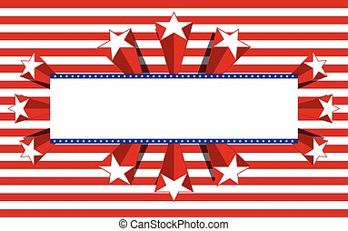 Patriotic background, vector