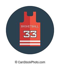 Basketball Shirt Design Template