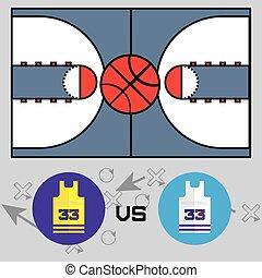 Basketball Match Objects