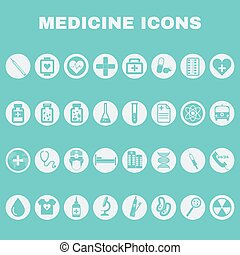 Healthcare Medical Vector Icons Set - Healthcare Colorful...