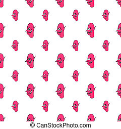 Devil FaceDevil Face Character Illustration Pattern...
