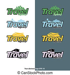 Travel Agency Logotype Vector Designs - Travel Agency...
