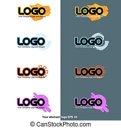 Logotype Sign Vector Templates - Logotype Sign Templates....