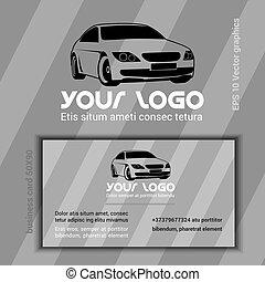 Car Company Logo Template - Car Company Logotype Template....