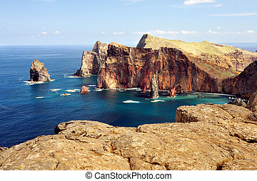 East coast of Madeira island Ponta de Sao Lourenco - East...
