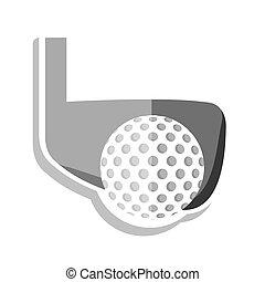 ball golf sport equipment