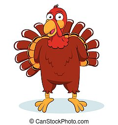 Turkey Vector cartoon