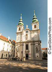 Beautiful view of famous Saint Charles's Church - Beautiful...