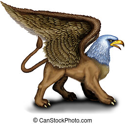 Griffin - Mythology Griffin