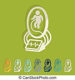 Flat design: artificial uterus