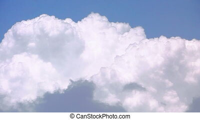 Clouds and blue sky. Time lapse - Heaven - Clouds and blue...